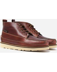 G.H.BASS Camp Moc Iii Ranger Pull Up Boots - Brown