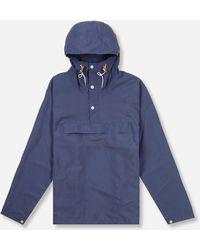 Battenwear Packable Anorak - Blue