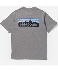 Patagonia - P6 Responsibili-tee Pocket T-shirt - Lyst