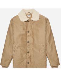Edwin Bedford Twill Ed Sheffield Jacket - Natural