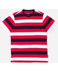 Barbour Duridge Stripe T-shirt - Red