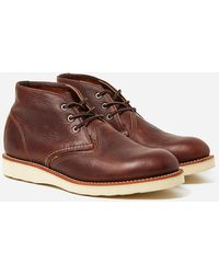 Red Wing 3141 Chukka Work Boot - Brown