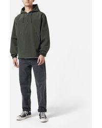 Uniform Bridge Half Zip Hoodie - Green