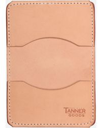 Tanner Goods - Union Quad Wallet - Lyst