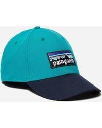 Patagonia - P6 Logo Stretch Fit Hat - Lyst