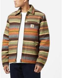 Carhartt WIP Detroit Tuscan Stripe Jacket - Black