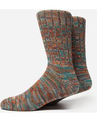 Anonymous Ism 5 Color Mix Crew Socks - Multicolor