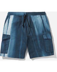 Edwin Squad Tie Dye Shorts - Blue