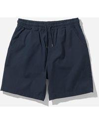 COLORFUL STANDARD Organic Twill Shorts - Blue