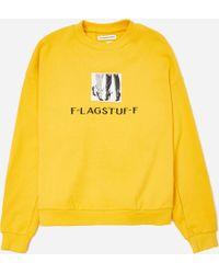 Flagstuff - Leg Sweatshirt - Lyst