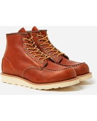Red Wing - 6'' Moc Toe Boot - Lyst
