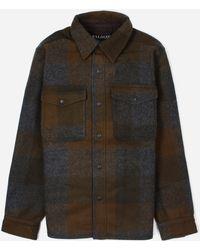 Filson Mackinaw Overshirt - Brown