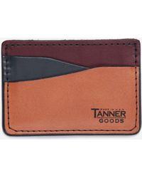Tanner Goods - Journeyman Card Holder - Lyst