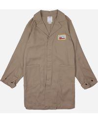 Visvim Peerless Service Coat - Natural