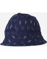 817056c7 Apolis Wool Camp Hat in Blue for Men - Lyst