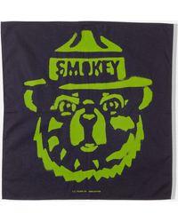 Filson Smokey Bear Bandana - Blue