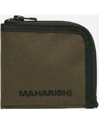 Maharishi Miltype Wallet - Green