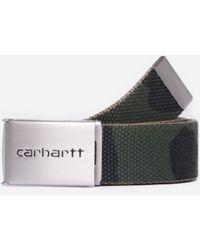 Carhartt WIP Chrome Clip Belt - Green