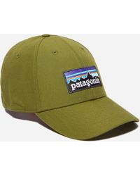 Patagonia P-6 Logo Roger That Hat in Black for Men - Lyst 6894d8579844