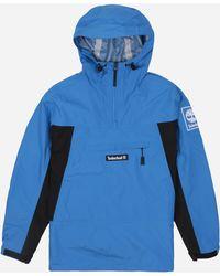 75ffd47132c Waterproof Pullover Jacket - Blue