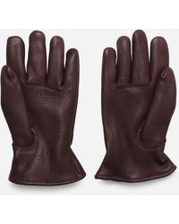 Red Wing Buckskin Lined Gloves - Brown
