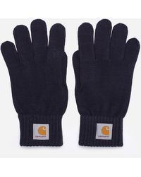 Carhartt WIP Watch Gloves - Blue