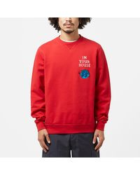 by Parra Systems Logo Sweatshirt - Red