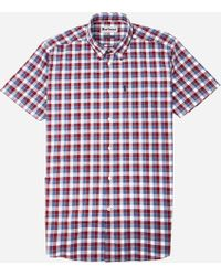 Barbour - Barge Short Sleeve Shirt - Lyst