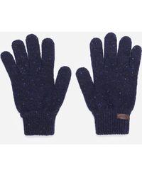 Barbour Donegal Gloves - Blue