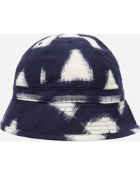 Universal Works Bucket Hat in Blue for Men - Lyst 15c4cd0f6695