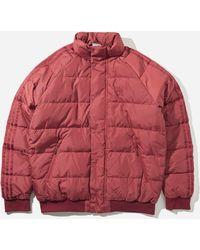 adidas Originals X Jonah Hill Puffer Jacket - Red