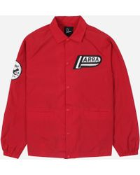by Parra Not Racing Coach Jacket - Red