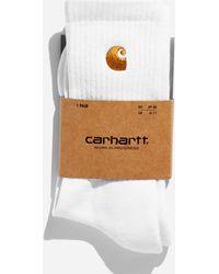 Carhartt WIP Chase Socks - White