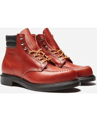 Red Wing Classic Moc Supersole Boot - Red