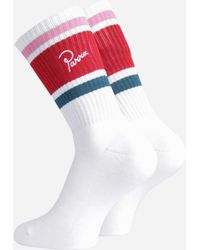 by Parra 4-pack Crew Socks - White
