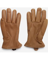 Red Wing Buckskin Lined Gloves - Natural