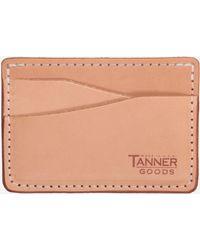 Tanner Goods - Journeyman Wallet - Lyst