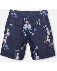 Engineered Garments Fatigue Shorts - Blue