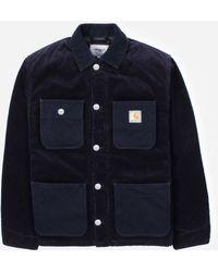 Carhartt WIP Michigan Coat - Blue