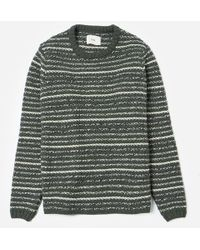 f0b02a0a90a Lyst - Folk Mélange Knitted Sweater in Brown for Men