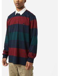 Carhartt WIP Hansen Long Sleeve Rugby Polo - Multicolour