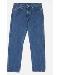 Norse Projects Regular Denim Jeans - Blue