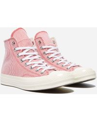 bad500537f37 Lyst - Converse The Chuck Taylor All Star Lp Ii Hi Sneaker in Red ...