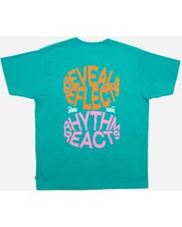 PATTA Reveal Reflects T-shirt - Blue