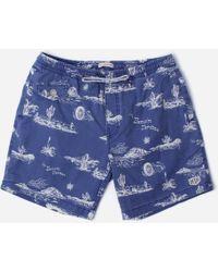 Deus Ex Machina Springs 16 Inch Shorts - Blue