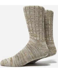 Anonymous Ism - 5 Colour Mix Crew Socks - Lyst