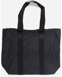 Rains Rush Tote Bag - Black