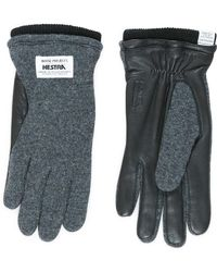 Norse Projects - Gloves Norse X Hestra Svante Charcoal - Lyst