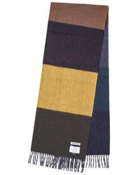 Norse Projects Norse X Begg & Co Scarf Black Multi