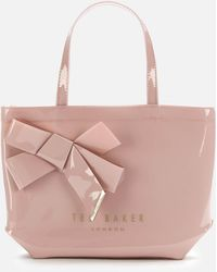 Ted Baker Nikicon Knot Bow Small Icon Bag - Pink